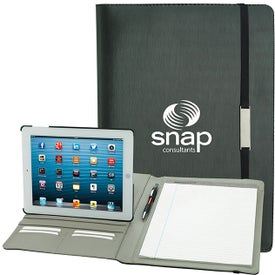 Rotating Case Tech Padfolio for iPad for Promotion
