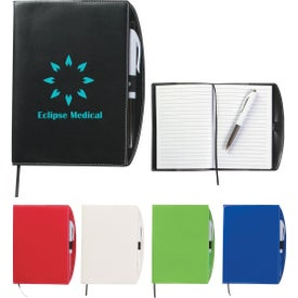 Savannah Notebook with Pen with Your Logo