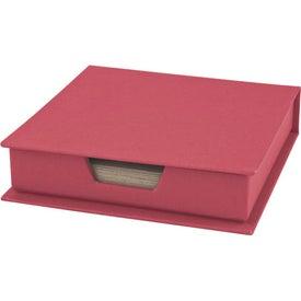Branded Self-Stick Notepad Center