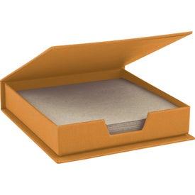 Company Self-Stick Notepad Center