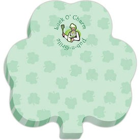 "Shamrock BIC Ecolutions Adhesive Die Cut Notepad (100 Sheets, 2.7144"" x 2.8047"")"