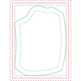Shopping Bag Adhesive Notepad (Medium, 100 Sheets)