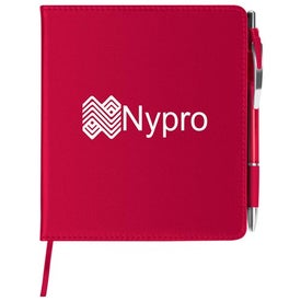 Slim Leatherette Notebook/Combo for Marketing
