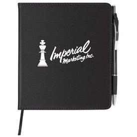 Slim Leatherette Notebook/Combo