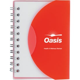 Logo Small Notebook With Slip Cover