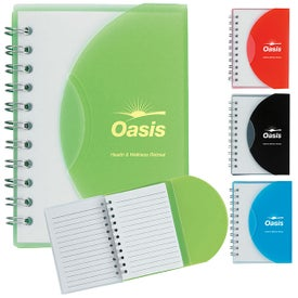Small Notebook With Slip Cover for your School