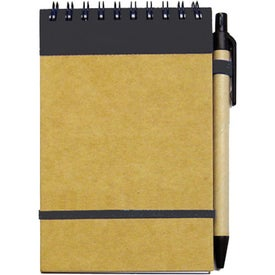 Personalized Small Recycled Notebook