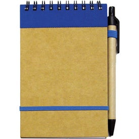 Monogrammed Small Recycled Notebook