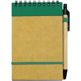 Custom Small Recycled Notebook