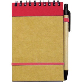 Printed Small Recycled Notebook