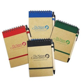 Small Recycled Notebook