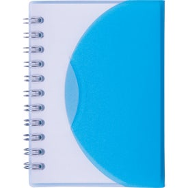 Advertising Small Spiral Curve Notebook