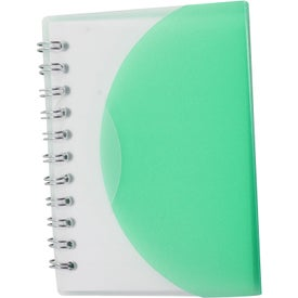 Logo Small Spiral Curve Notebook