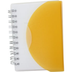 Small Spiral Curve Notebook for Your Church
