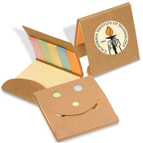 Natural Smiley Sticky Note Pack