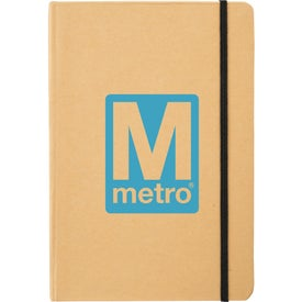 Branded Snap Large Eco Notebook