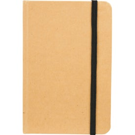 Imprinted Snap Mini Eco Notebook