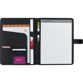 Spine Padfolio Imprinted with Your Logo