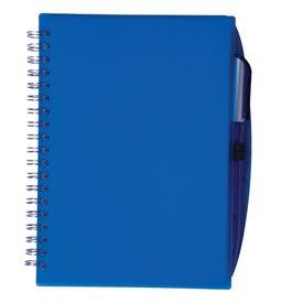 Logo Customizable Spiral Notebook with Pen