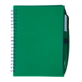 Customizable Spiral Notebook with Pen for Marketing