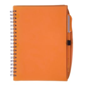 Printed Customizable Spiral Notebook with Pen