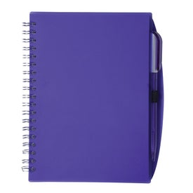Promotional Customizable Spiral Notebook with Pen