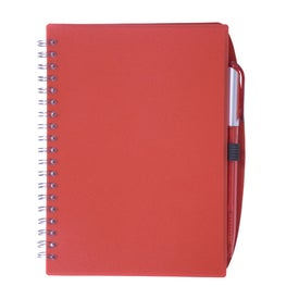 Spiral Notebook with Pen for Your Company