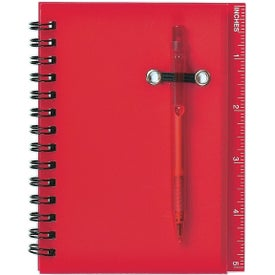 Spiral Notebook and Pen for Your Company