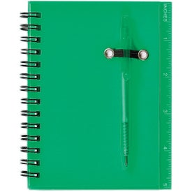 Customized Spiral Notebook and Pen