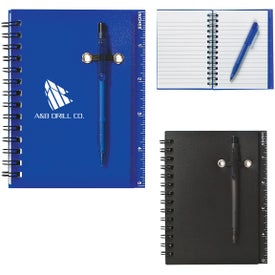 Notebook and Pen (25 Sheets)