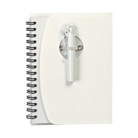 Spiral Notebook With Shorty Pen Imprinted with Your Logo