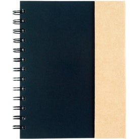 Personalized Spiral Notebook with Sticky Notes and Flags