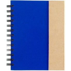 Customized Spiral Notebook with Sticky Notes and Flags