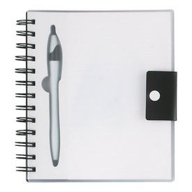 Customized Spiral Notebook With Dart Pen