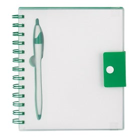 Advertising Spiral Notebook With Dart Pen