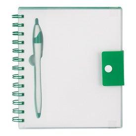 Advertising Spiral Notebook With Dart Pen