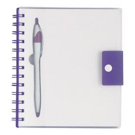 Personalized Spiral Notebook With Dart Pen