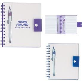 Spiral Notebook With Dart Pen