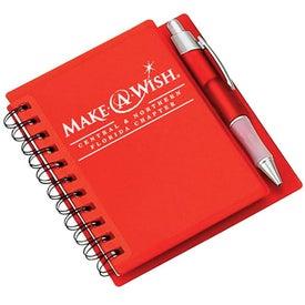 Logo Spiral Notebook with Pen