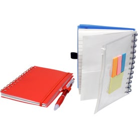 Spiral Pocket Organizer and Sticky Note Combo for Your Organization