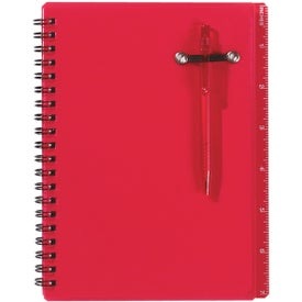 Spiral Notebook and Pen for Your Organization