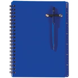 Logo Spiral Notebook and Pen