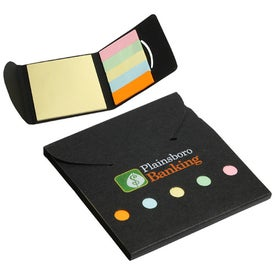 Square Deal Sticky Note Wallet for Your Organization