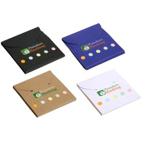 Advertising Square Deal Sticky Note Wallet