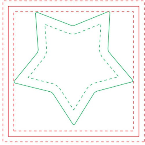 White Star BIC Ecolutions Adhesive Die Cut Notepad