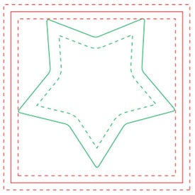 "Star BIC Ecolutions Adhesive Die Cut Notepad (3"" x 3"", 50 Sheets)"