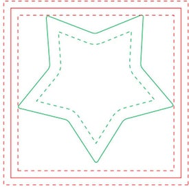 Star Adhesive Sticky Note Pads (Small, 25 Sheets)