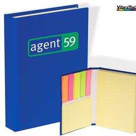 Monogrammed Sticky Book