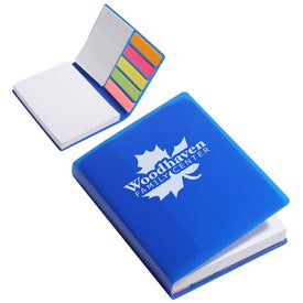 Imprinted Sticky Note and Flag Book