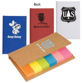 Sticky Flag Book with Your Logo